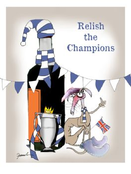 Relish the Blue Champs